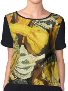 Gobs of Gourds Chiffon Top