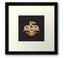 Bird - totem pole style Framed Print