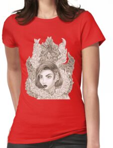 Malevolent Womens Fitted T-Shirt