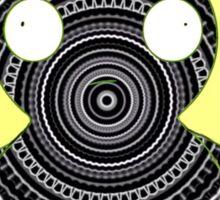 The Dark Mandala Kuchi Kopi Design Sticker
