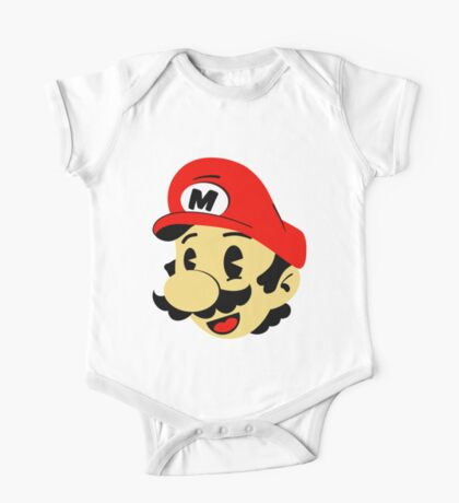 Retro Mario One Piece - Short Sleeve