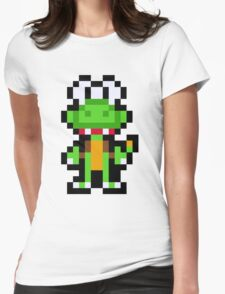 Pixel Croc Womens Fitted T-Shirt