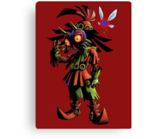 Skull Kid: Vessel of Evil Canvas Print