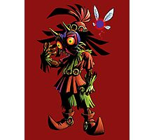 Skull Kid: Vessel of Evil Photographic Print