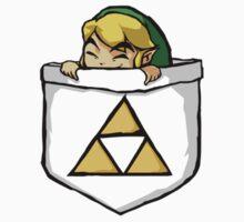 Legend of Zelda - Pocket Link One Piece - Short Sleeve