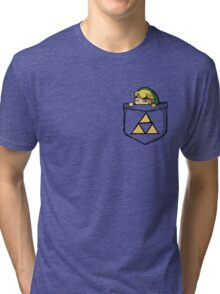 Legend of Zelda - Pocket Link Tri-blend T-Shirt