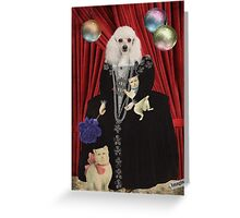 Animal Collection -- Jezebel Greeting Card