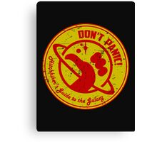 Hitchhiker's Guide Canvas Print