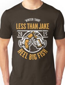 Reel Big Fish Vs Less Than Jake Winter Tour 2015 Unisex T-Shirt