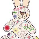Vintage bunny toy by Marishkayu