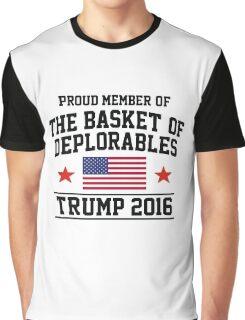 Deplorable TRUMP 2016 Graphic T-Shirt