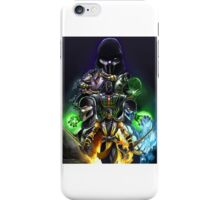 mk ninjas (excluding chameleon, tremor and hydro) iPhone Case/Skin