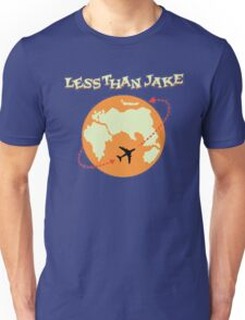 Around The World With Less Than Jake Unisex T-Shirt