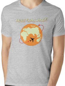 Around The World With Less Than Jake Mens V-Neck T-Shirt