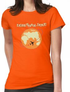 Around The World With Less Than Jake Womens Fitted T-Shirt