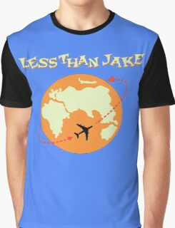 Around The World With Less Than Jake Graphic T-Shirt