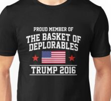Make America Deplorable Again for TRUMP 2016 Unisex T-Shirt