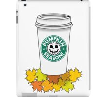 Pumpkin Season-Variant 4 iPad Case/Skin