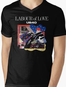 Labour Of Love UB 40 Mens V-Neck T-Shirt