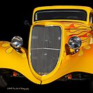 Yellow Classic-1934 Ford by Heather Friedman