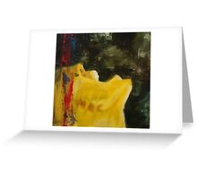 Why have you forsaken me? Greeting Card