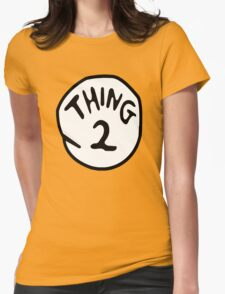 Thing--1--2 Womens Fitted T-Shirt