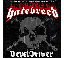 Hatebreed Devil Driver Photographic Print