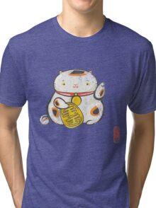 ManekiNeko Tri-blend T-Shirt
