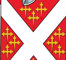 Denny Coat of Arms (Kerry, Ireland) Sticker