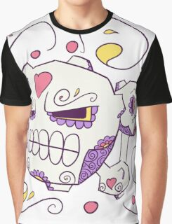 Weezing Popmuerto | Pokemon & Day of The Dead Mashup Graphic T-Shirt