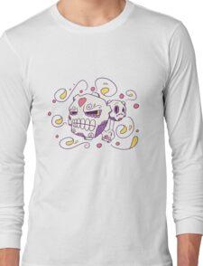 Weezing Popmuerto | Pokemon & Day of The Dead Mashup Long Sleeve T-Shirt