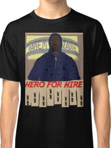 Luke Cage Hero For Hire Classic T-Shirt