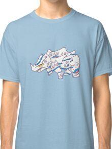 Rhyhorn Popmuerto | Pokemon & Day of The Dead Mashup Classic T-Shirt