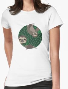 Life of Sloth Womens Fitted T-Shirt