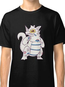 Rhydon Popmuerto | Pokemon & Day of The Dead Mashup Classic T-Shirt