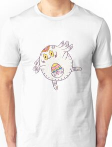 Chansey Popmuerto   Pokemon & Day of The Dead Mashup Unisex T-Shirt