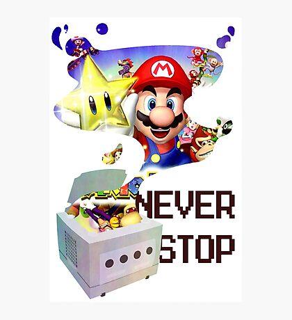 GameCube Tribute - Mario Party Photographic Print