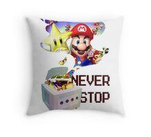 GameCube Tribute - Mario Party Throw Pillow