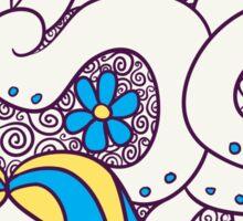 Tangela Popmuerto | Pokemon & Day of The Dead Mashup Sticker