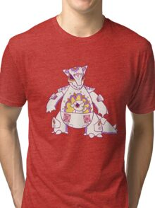 Kangaskhan Popmuerto | Pokemon & Day of The Dead Mashup Tri-blend T-Shirt