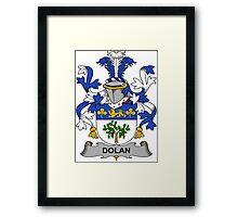 Dolan Coat of Arms (Irish) Framed Print