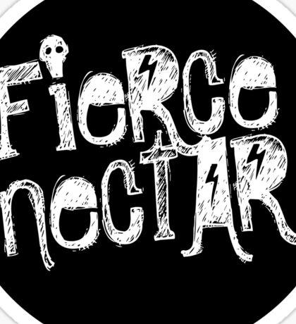 Fierce Nectar Chalk Logo Tee Sticker