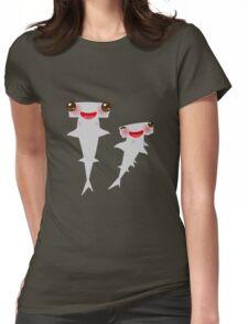 Cute Hammerhead Sharks Womens Fitted T-Shirt