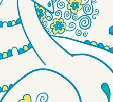 Seadra Popmuerto | Pokemon & Day of The Dead Mashup Sticker