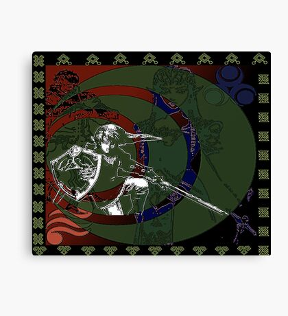 The Legend Tapestry Canvas Print