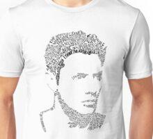 Dean Winchester Quote Portrait Unisex T-Shirt