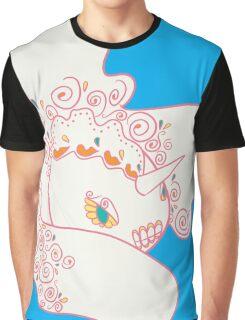 Goldeen Popmuerto | Pokemon & Day of The Dead Mashup Graphic T-Shirt