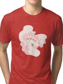Goldeen Popmuerto | Pokemon & Day of The Dead Mashup Tri-blend T-Shirt