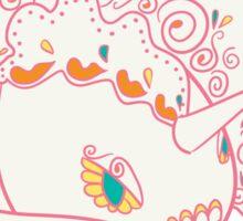 Goldeen Popmuerto | Pokemon & Day of The Dead Mashup Sticker