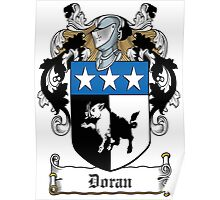 Doran Coat of Arms (Irish) Poster